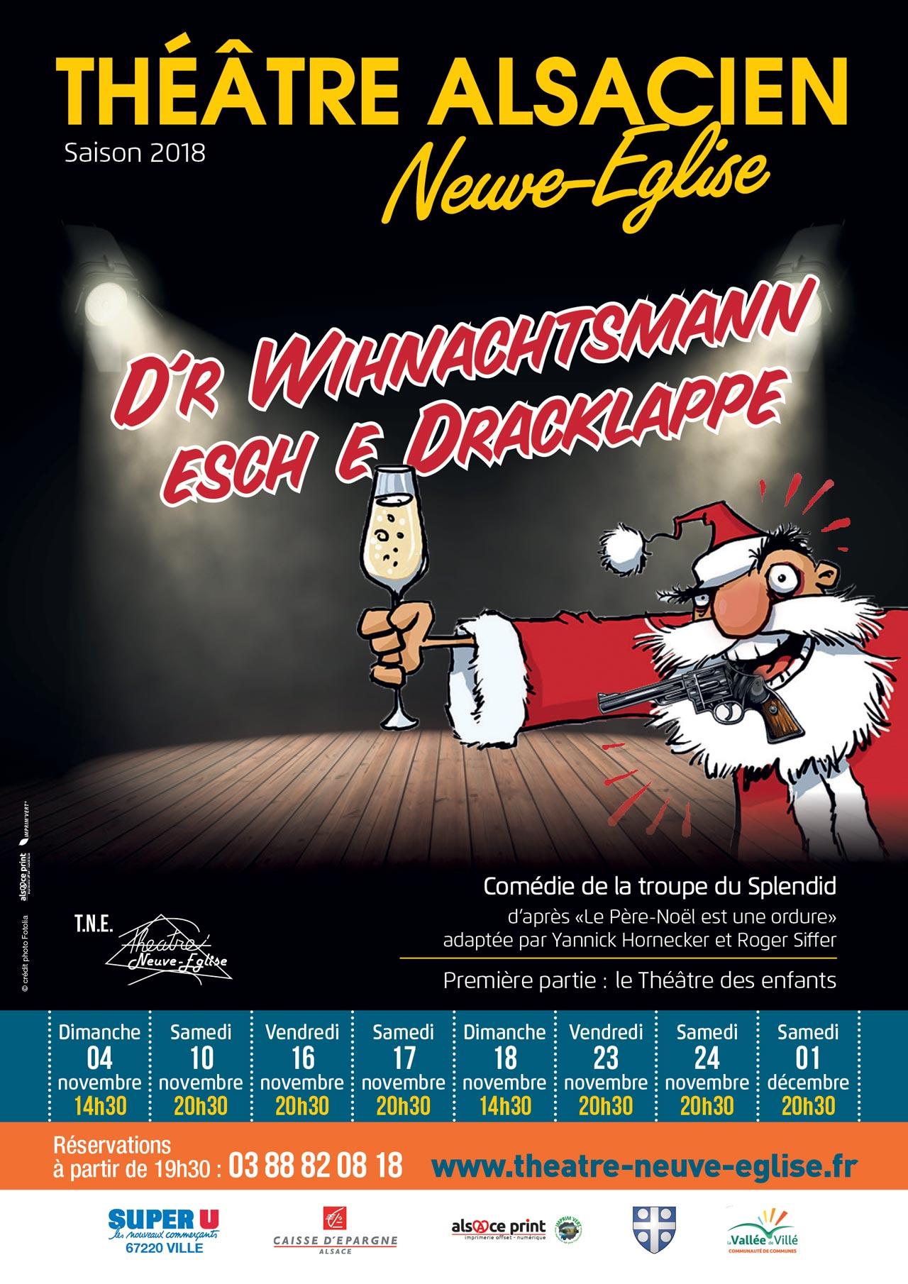 Théatre de Neuve-Eglise - Affiche Saison 2018-19